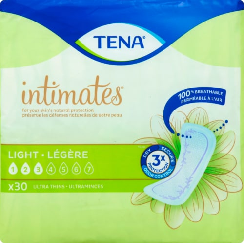 TENA Intimates Ultra Thin Light Liners Perspective: front