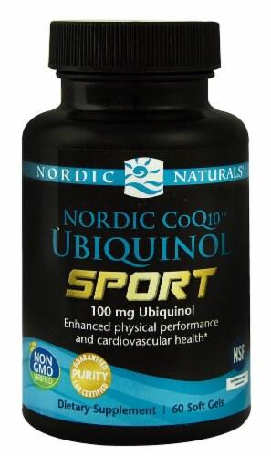 Nordic Naturals  Nordic CoQ10™ Ubiquinol Sport Perspective: front