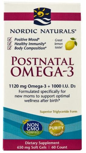 Nordic Naturals  Postnatal Omega-3 Perspective: front