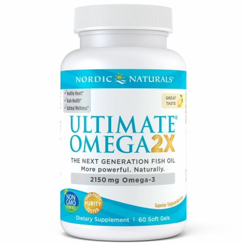 Nordic Naturals Ultimate Omega Softgels Perspective: front