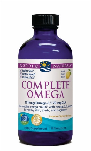 Nordic Naturals  Complete™ Omega Liquid   Lemon Perspective: front