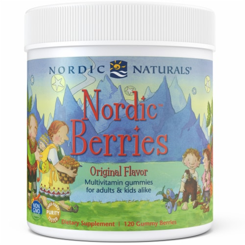 Nordic Naturals Nordic Berries Multivitamin Gummies Perspective: front