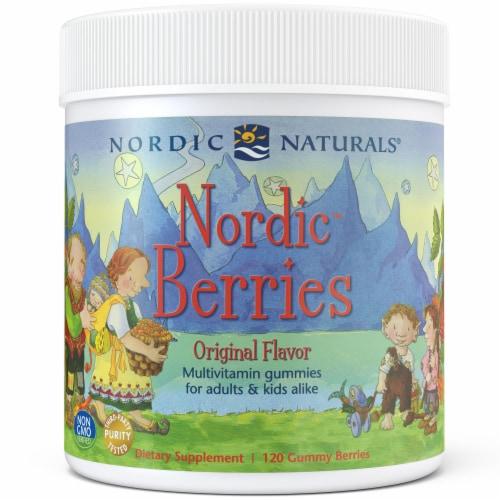 Nordic Naturals Nordic Berries Adult & Kid Multivitamin Gummies Perspective: front