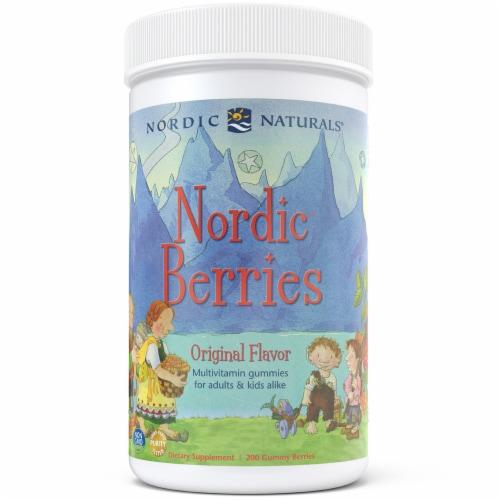 Nordic Naturals Nordic Berries Original Flavor Multivitamin Gummies Perspective: front