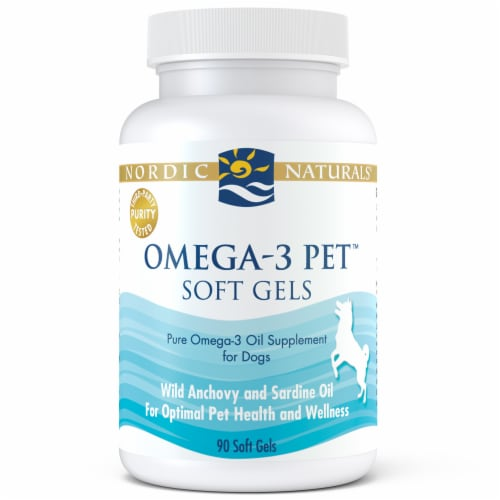 Nordic Naturals Omega-3 Pet for Dogs Perspective: front