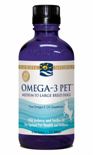 Nordic Naturals  Omega-3 Pet™ Medium to Large Breed Dogs Perspective: front