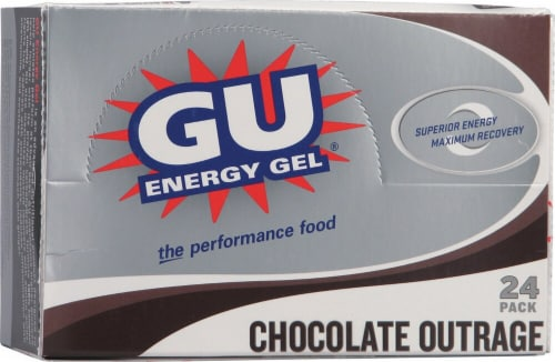 GU Energy Labs  Energy Gel®   Chocolate Outrage Perspective: front