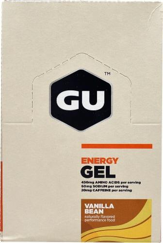 GU Energy Labs  Energy Gel®   Vanilla Bean Perspective: front
