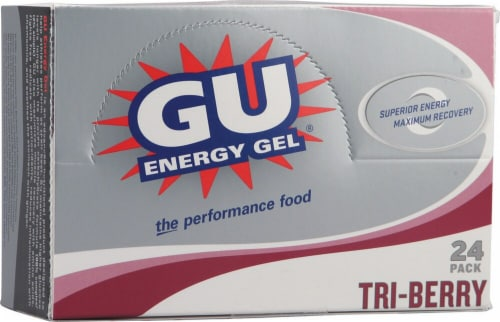 GU Energy Labs  Energy Gel®   Tri-Berry Perspective: front