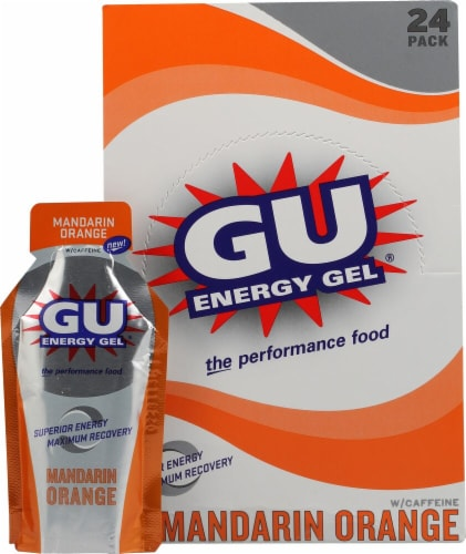 GU Energy Labs  Energy Gel®   Mandarin Orange Perspective: front