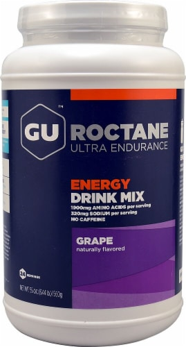 GU Energy Labs  Roctane™ Ultra Endurance Energy Drink Mix   Grape Perspective: front