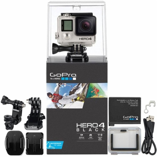 Gopro Hero4 Black Edition Action Camera Hd Camcorder #chdhx-401 Perspective: front