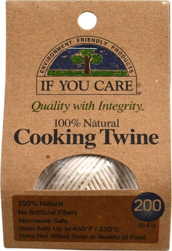 If You Care Natural Cooking Twine Perspective: front