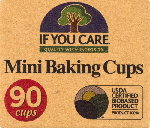 If You Care Mini Baking Cups Perspective: front