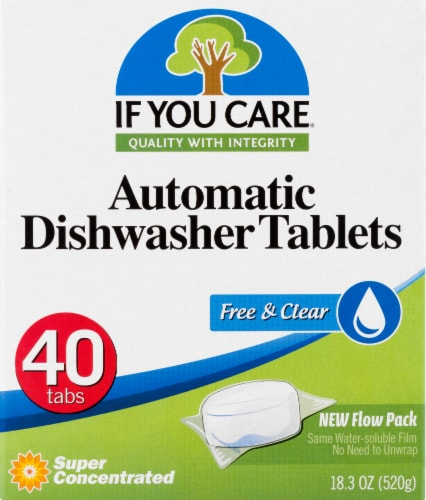 If You Care Automatic Dishwasher Tablets Perspective: front