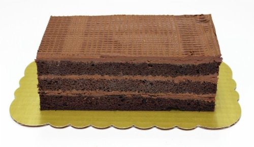 Bakery Chocolate Layer Cake Perspective: front
