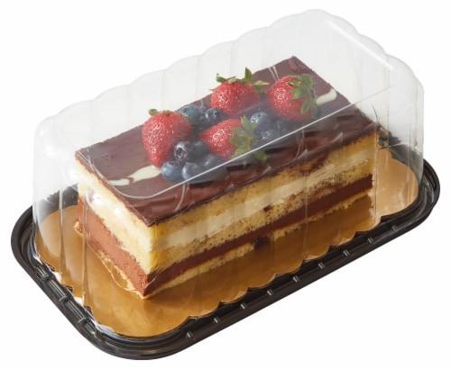 Bakery Tuxedo Truffle Mousse Cake Perspective: front