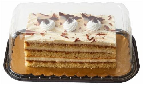 Bakery Tiramisu Layer Cake Perspective: front
