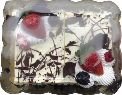 Bakery Black Forest Cake Perspective: front