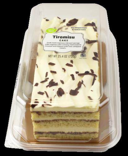 Tiramisu Layer Cake Perspective: front