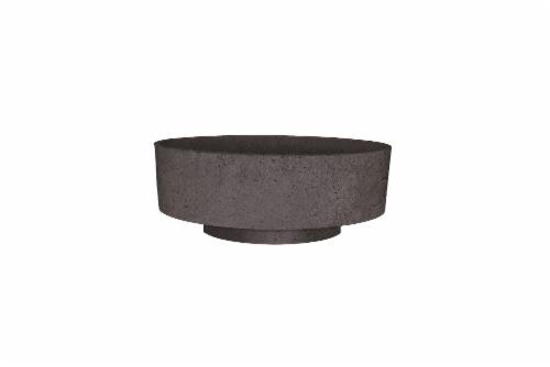 The HC Companies Capri Bowl - Faux Concrete Perspective: front