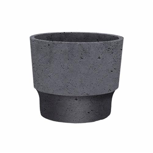 The HC Companies Sprite Succulent Pot - Faux Concrete Perspective: front