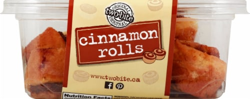 Two-Bite Cinnamon Rolls Perspective: front