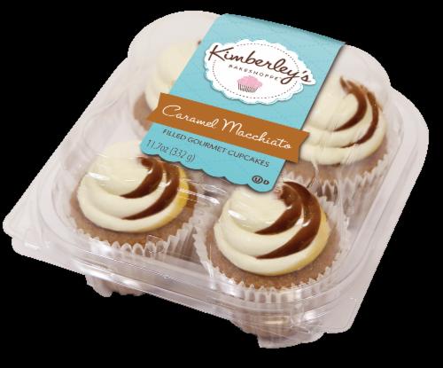 Kimberley's Bakeshoppe Caramel Macchiato Cupcakes Perspective: front