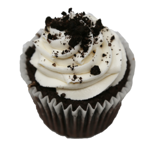 Kimberley's Bakeshoppe Oreo Gourmet Cupcakes Perspective: front