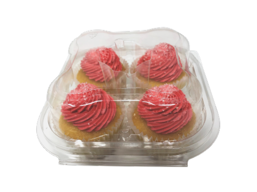 Kimberley's Bakeshoppe Gourmet Cupcakes - Strawberry Daiquiri Perspective: front