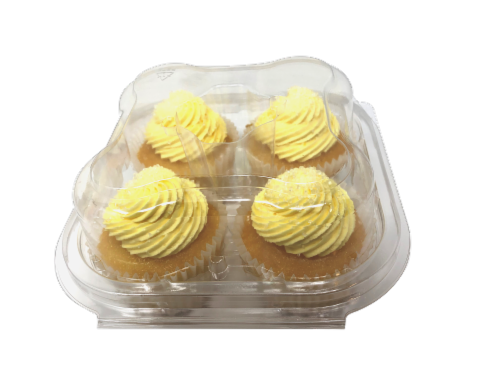 Kimberley's Bakeshoppe Gourmet Cupcakes - Pina Colada Perspective: front