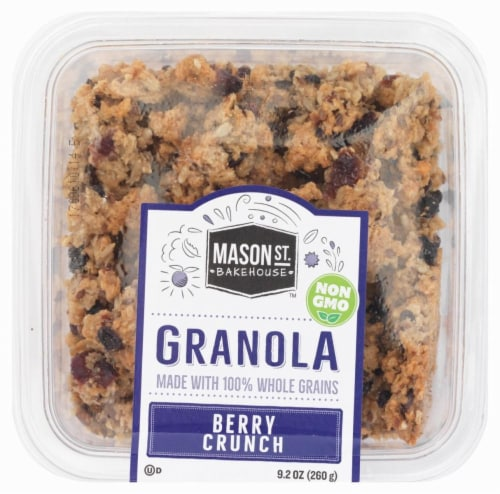 Mason St. Bakehouse Berry Crunch Granola Perspective: front