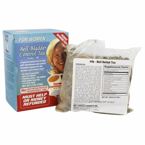 Bell Lifestyle Bladder Control Tea for Women Caffeine Free, 4.2 Ounces Perspective: front
