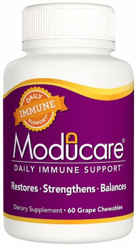 Kyolic Moducare Grape Immune System Support Chewables Perspective: front