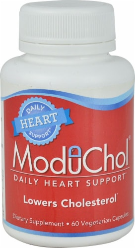 Kyolic ModuChol Daily Heart Support Vegetarian Capsules Perspective: front