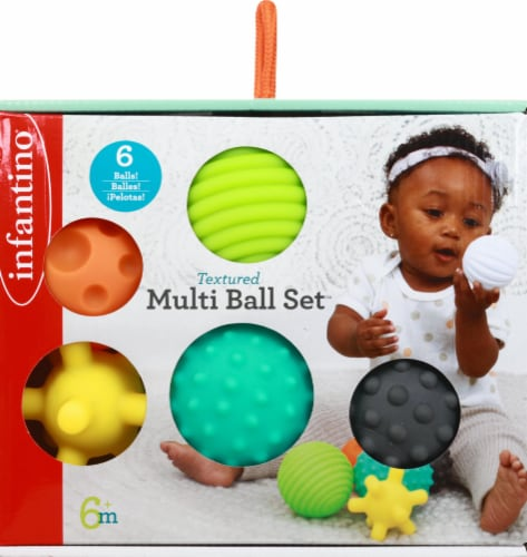 Infantino Textured Multi Ball Infant Toy Set Perspective: front