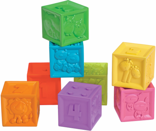 Infantino Squeeze and Stack Block Set Perspective: front
