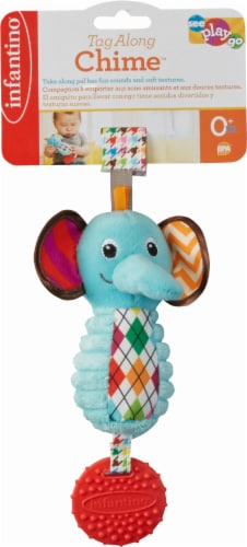 Infantino Tag Along Chime Infant Toy Perspective: front