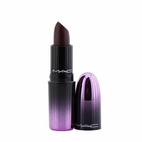 MAC Love Me Lipstick  # 410 La Femme (Deep Eggplant Purple) 3g/0.1oz Perspective: front