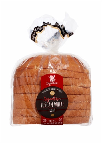 Backerhaus Veit Signature Tuscan White Sliced Bread Loaf Perspective: front