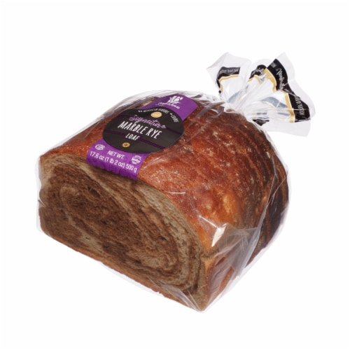 Backerhaus Veit Signature Marble Rye Loaf Perspective: front
