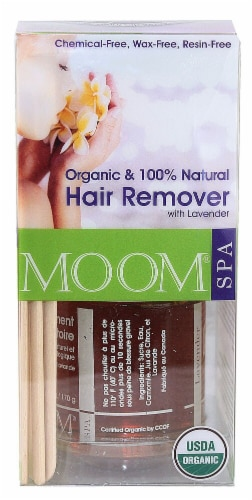 Moom Lavender Organic Hair Removal Kit Perspective: front