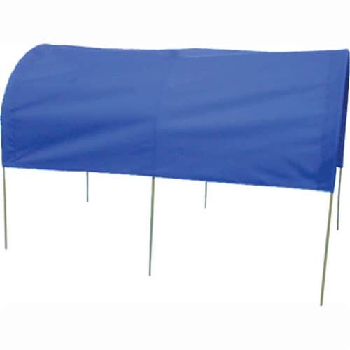 Millside Industries 04032 20 in. x 38 in. Summer Cover for Wagons - Blue Perspective: front