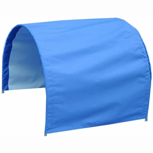 Millside Industries 05037 20 x 38 Winter Cover for Wagons - Blue Perspective: front