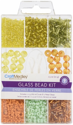 Glass Bead Kit 90g-Tropicana Perspective: front
