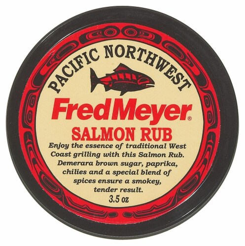 Fred Meyer® Salmon Rub Perspective: front
