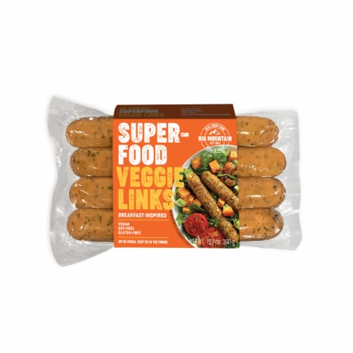 Big Mountain Foods Superfood Veggie Links Perspective: front