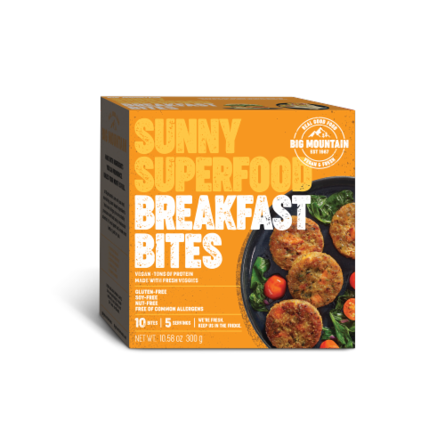Big Mountain Foods Sunny Superfood Breakfast Bites Perspective: front
