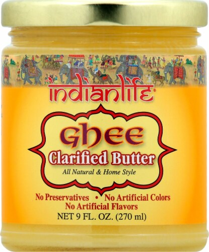 Indianlife Ghee Clarified Butter Perspective: front