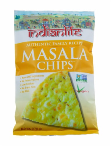 Indian Life Masala Chips Perspective: front
